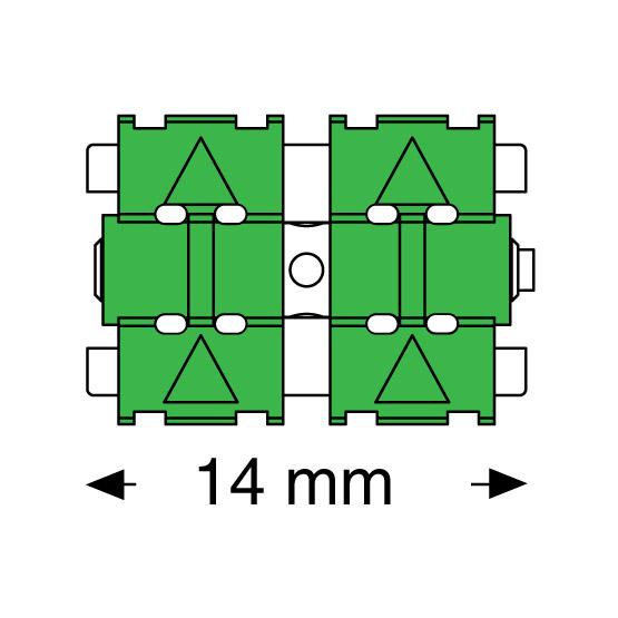 Leone tornillos pop para superiores 3