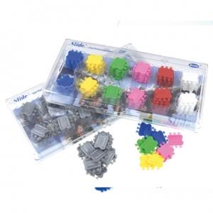 Leone kit ligaduras slide coloreadas