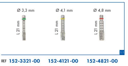 Leone conformadores de rosca para implantes classix