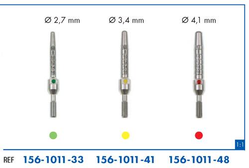 Leone puntas para condensación ósea